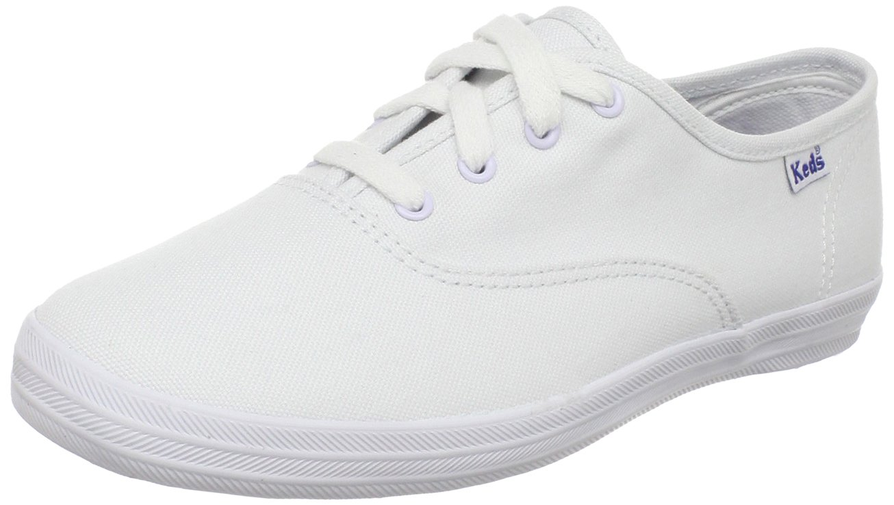 Keds Original Champion CVO Sneaker (Toddler/Little Kid/Big Kid),White Canvas,12.5 M US Little Kid