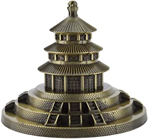 Xiangxin Metal Building Model, Heaven Park, Stylish and Attractive Gift for Home Souvenir Office