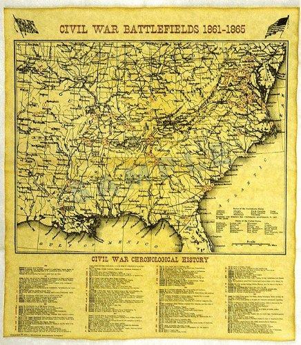 (US Civil War Battlefield Map )