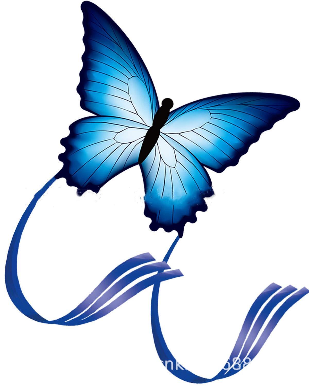 Frmarche Papillon Cerf-Volant Enfant Adultes Jeu de Plein air Nylon pour Jeux Extérieur Activité