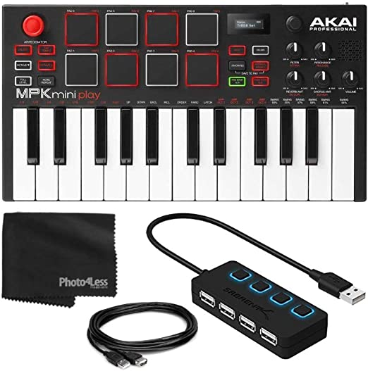 Akai Professional MPK Mini Play – Teclado compacto y ...