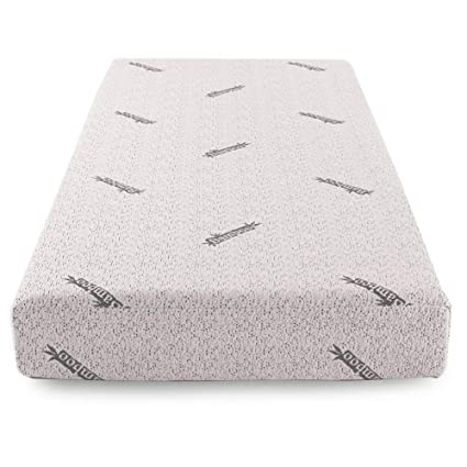 huge discount a2750 0d1e4 Comfort & Relax Memory Foam Mattress with Gel-infused AirCell Tech, Bamboo  Fabric Cover, 8 Inch TWIN
