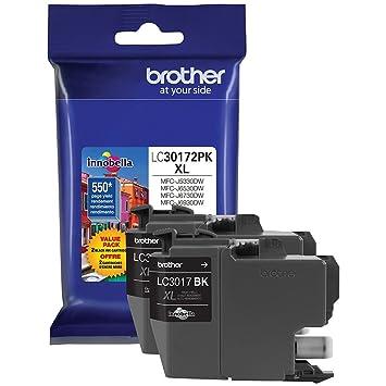 Amazon.com: Brother mfc-j6930dw tinta negra alto rendimiento ...