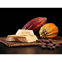 Organic Cocoa butter 16 Oz ( 1 Lb ) Food grade . Raw cacao butter with organic certificate