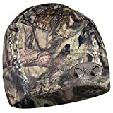 POWERCAP CUBWB-6403 LED Lighted Fleece Beanie, One Size Fits Most, Mossy Oak Country Camo