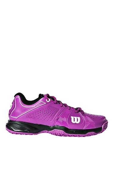 Zapatillas de Padel Wilson Rush Sport Mujer-38: Amazon.es ...