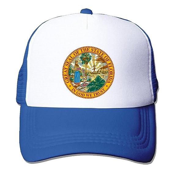 MT gran sello del estado de Florida moda gorras de béisbol: Amazon.es: Ropa y accesorios