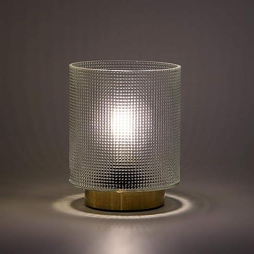 Amazon.com: MJ PREMIER lámpara de mesa al lado de la lámpara ...