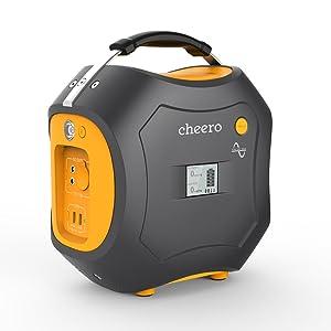 cheero Energy Carry 500Wh AC出力300W ポータブル電源