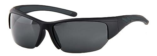 Sunoptic - Gafas de sol unisex, color negro, talla talla única