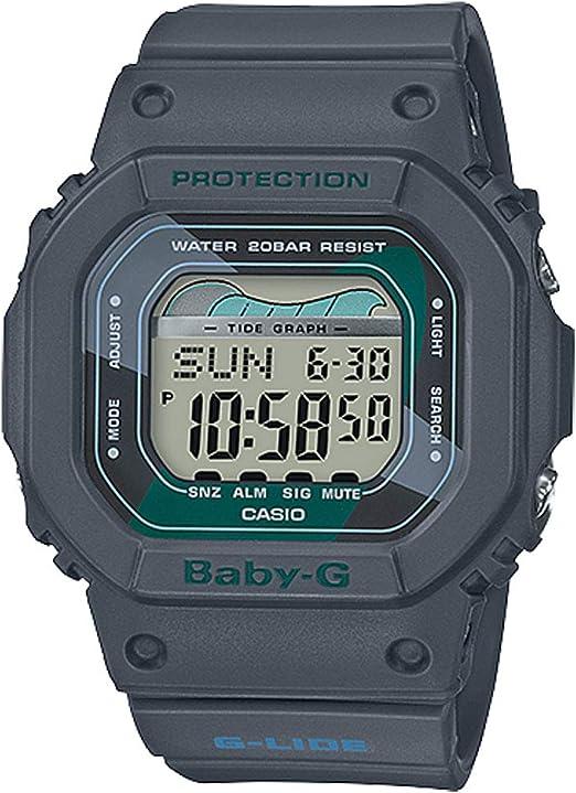 Baby G by Casio Women's BLX560VH 1 Digital Watch Gray  pqQUM