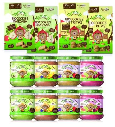 Yammy - Potito Meriendas Bebé +4 Meses + Galletas Sin Azúcar Espelta+Mini Letras +12Meses Pack 12 Unidades...: Amazon.es: Alimentación y bebidas