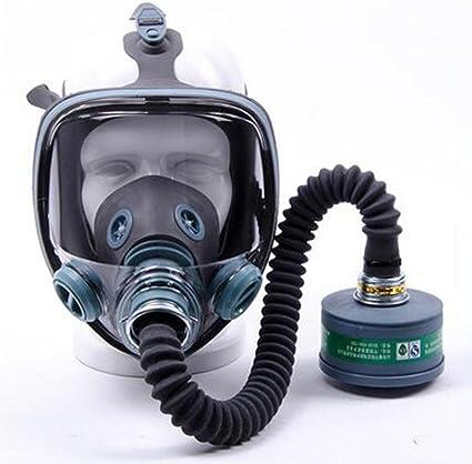 masque a gaz chimique virus