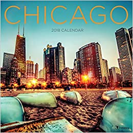 2018 Chicago Wall Calendar: TF Publishing: 9781683750499: Amazon