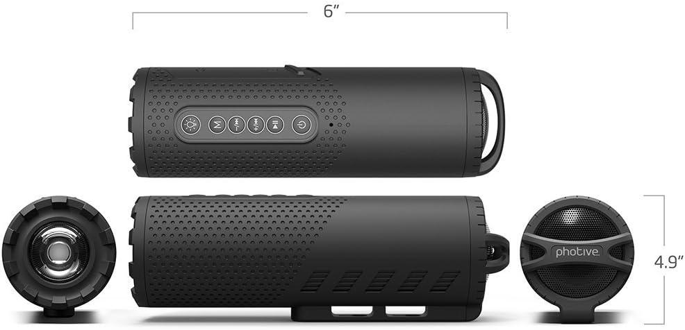 Amazon.com: Photive Faro LED para bicicleta con altavoz ...