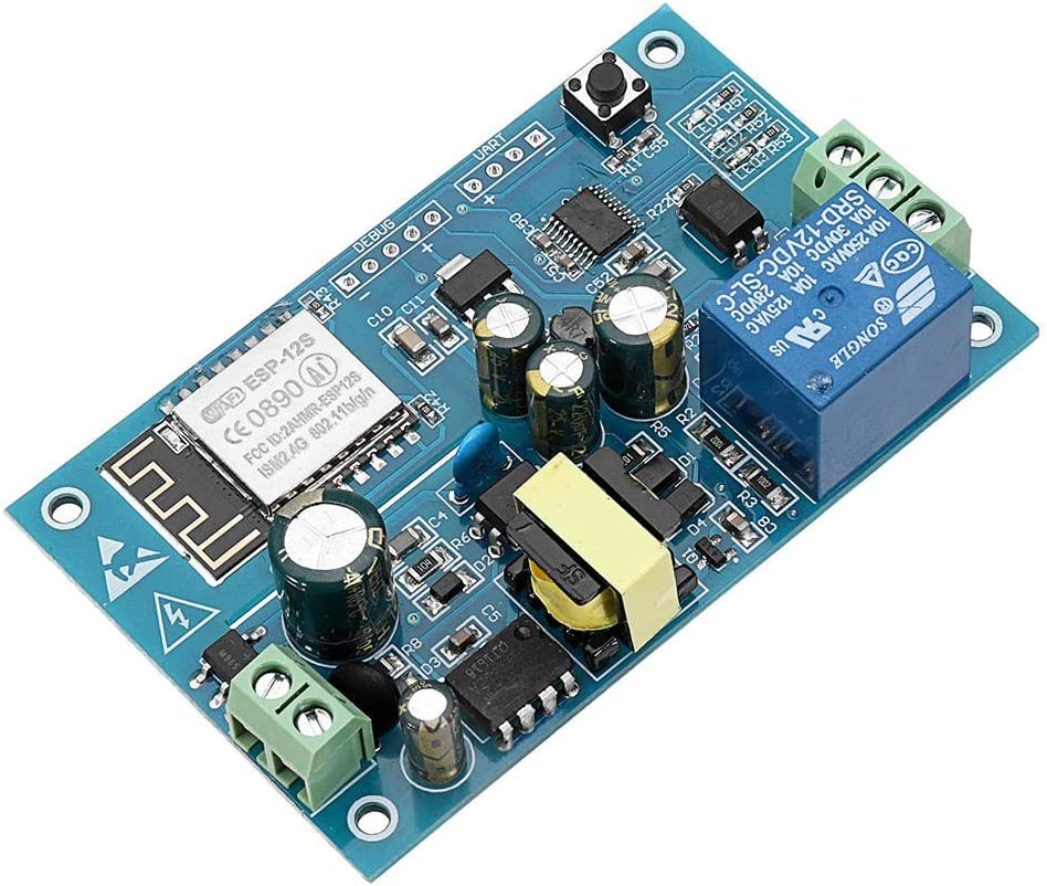 AC 220V ESP8266 WiFi Relay Module IOT Smart Home Cellphone APP Remote Control Switch Intelligent Module