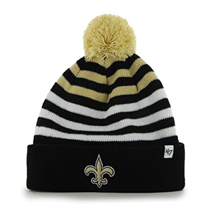 Amazon.com    47 Youth Cuff Knit New Orleans Saints Beanie   Sports ... f3101b536ed