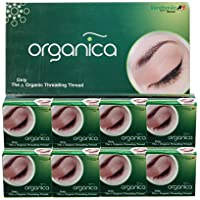 Organica eyebrow thread box of 8 spool