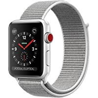 Apple Watch Series 3 38 mm Silver w/Seashell Sport Loop