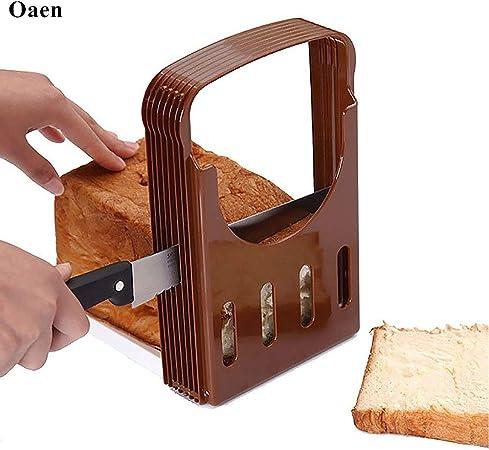 Amazon.com: Cortadores de pan, Oaen ajustable cortador de ...