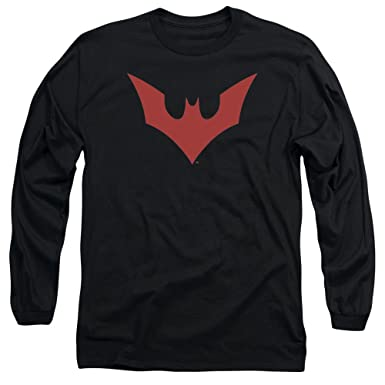 a6366352 Image Unavailable. Image not available for. Color: Trevco Batman Beyond Logo  Unisex Adult Long-Sleeve T Shirt ...