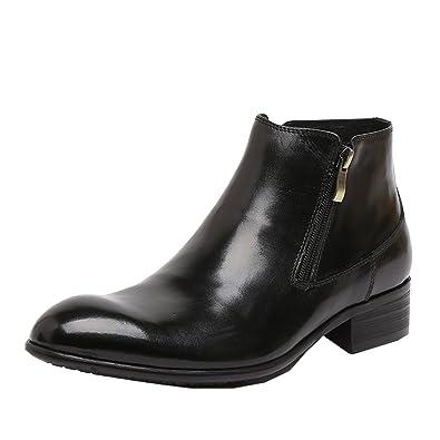Dilize - Zapatos de cordones para hombre, color negro, talla 41 EU