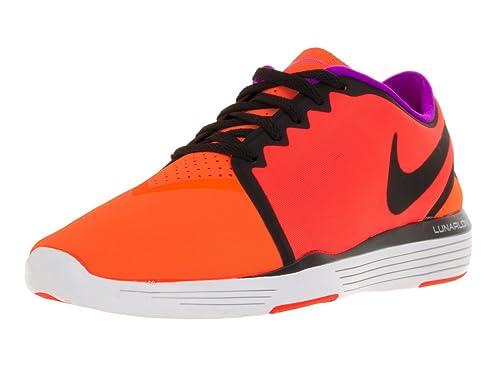 21f883b40439 Nike Women s Lunar Sculpt Total Crimson Black Total Orange Hypr Vl Training  Shoe 8 Women US  Amazon.in  Shoes   Handbags