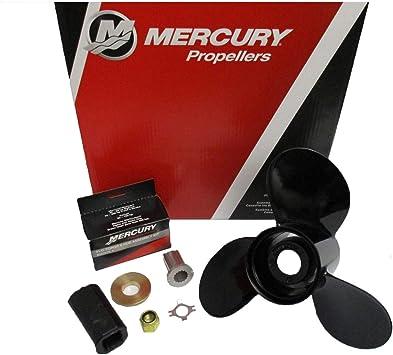 Mercury Marine Blackmax 3 Blade Aluminum Prop Propeller 12-3//4 x 21P 48-77348A45