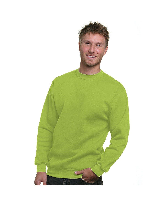 d2bcf132dff Bayside BA1102 Adult Crewneck Sweatshirt at Amazon Men s Clothing store   Athletic Sweatshirts