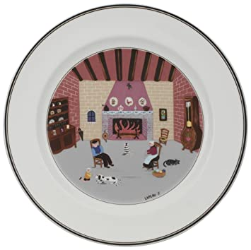 Amazoncom Villeroy Boch Design Naif Dinner Plate 5 By The
