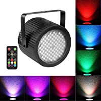 Strobe Light for Parties, softeen Sound Activated DJ Strobe Light with Wireless Remote Control 88pcs 5050 Super Bright LED, Adjustable Flashing Speed and Colors, Perfect for Party, Birthday, Disco