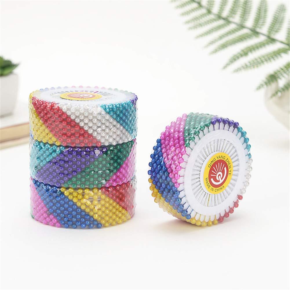 vitihipsy 480pcs//Set Round Head Dressmaking Pearl Decorating Sewing Pin Craft Home Decorative DIY Crafts Accessories