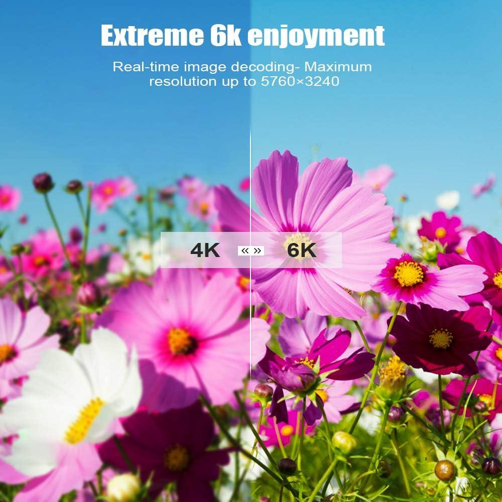 Xilibod Android 9.0 TV Box Model No. X96H 2GB 16GB X96H TV Box 2GB 16GB 2.4G WiFi with Bluetooth 3D 4K 1080P Smart TV Box