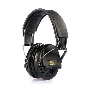 MSA Sordin Supreme Pro X - Auriculares de protección activa de audición (incluye almohadilla de