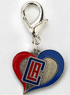 product image for Diva-Dog NBA Basketball 'Los Angeles Clippers' Licensed Team Dog Collar Charm