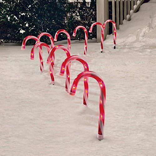 5 Candy Cane Lights Outdoor Christmas Lights