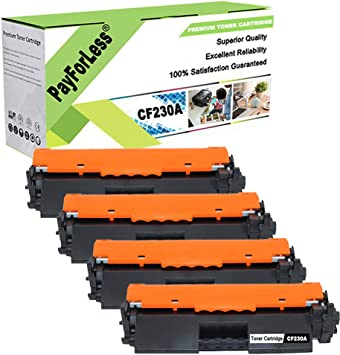 4PK CF230A 30A Toner Cartridge Chip For HP LaserJet Pro M203dw M227sdn M227fdw