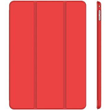 JETech 3286 - Funda para iPad mini 4, Carcasa con Soporte Función, Auto-Sueño / Estela, Rojo