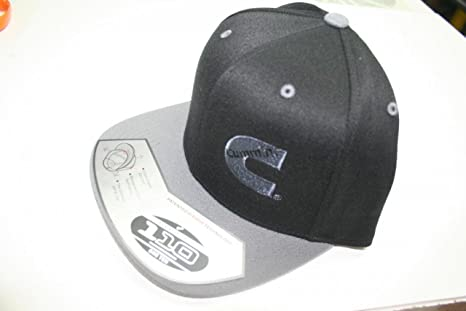 Image Unavailable. Image not available for. Color  Dodge Cummins Flatbill Cap  hat snap Back Diesel Gray Black 5443fad58eb9