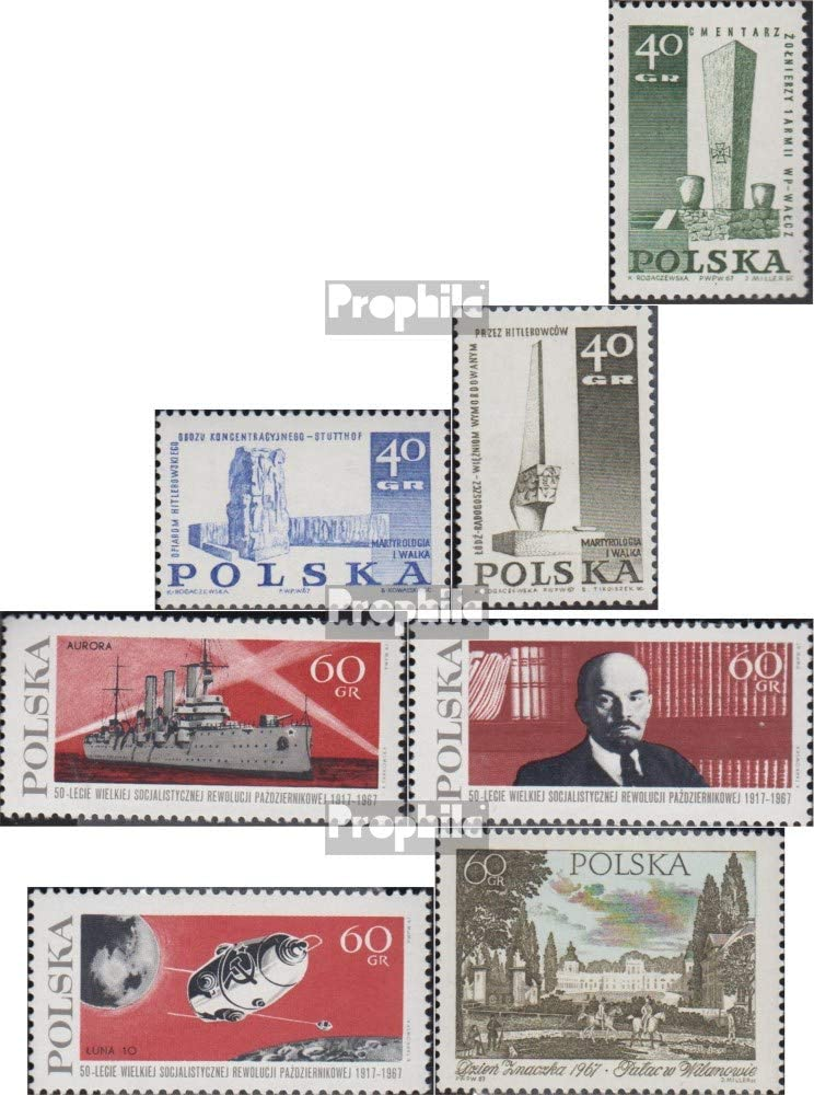 Prophila Collection Polonia Michel.-No..: 1790-1792,1793-1795,1796 ...