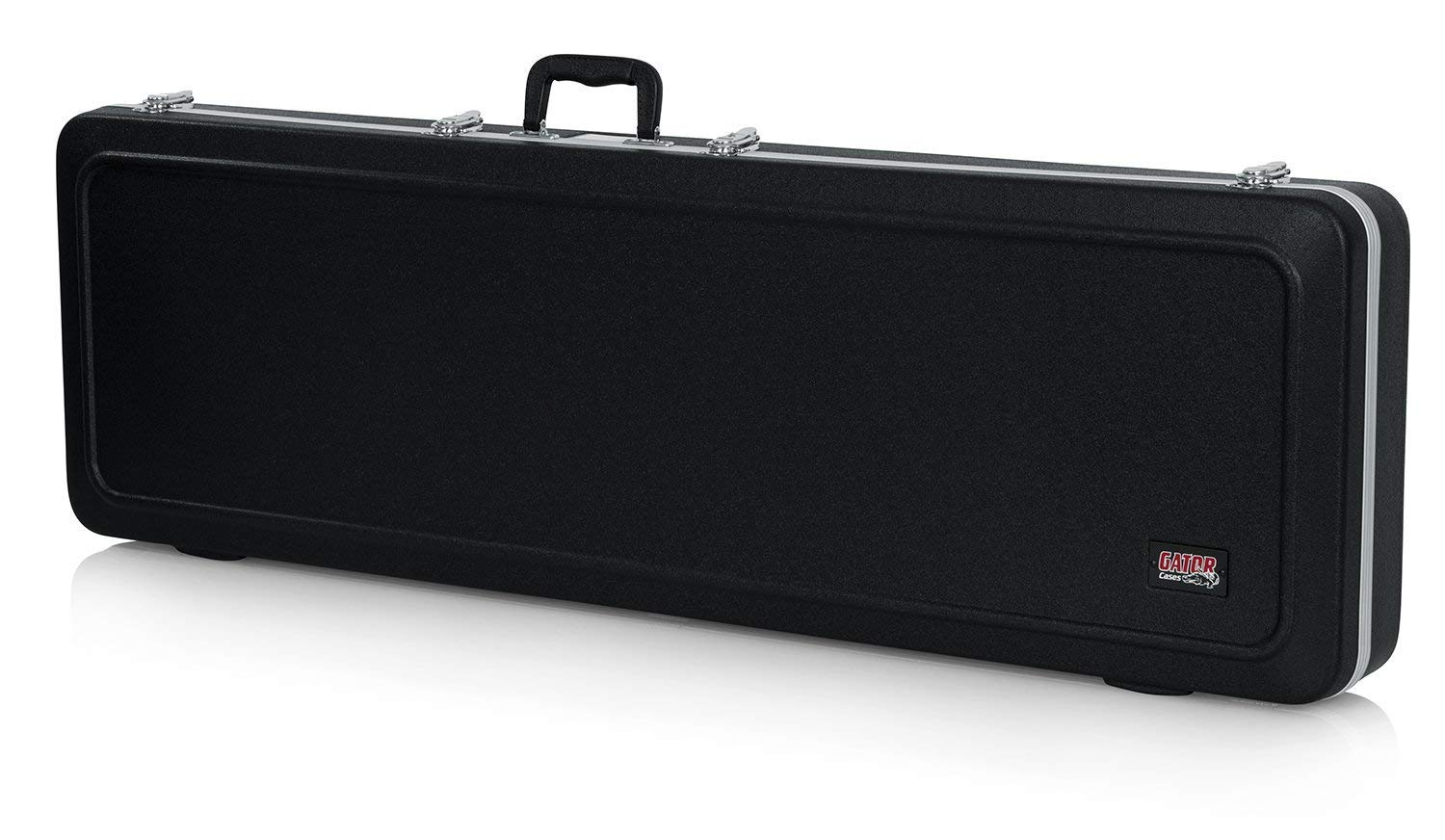 Gator Cases Deluxe ABS Molded Case for Bass Guitars; Fits Precision and Jazz Style Bass Guitars (GC-BASS) (Renewed)