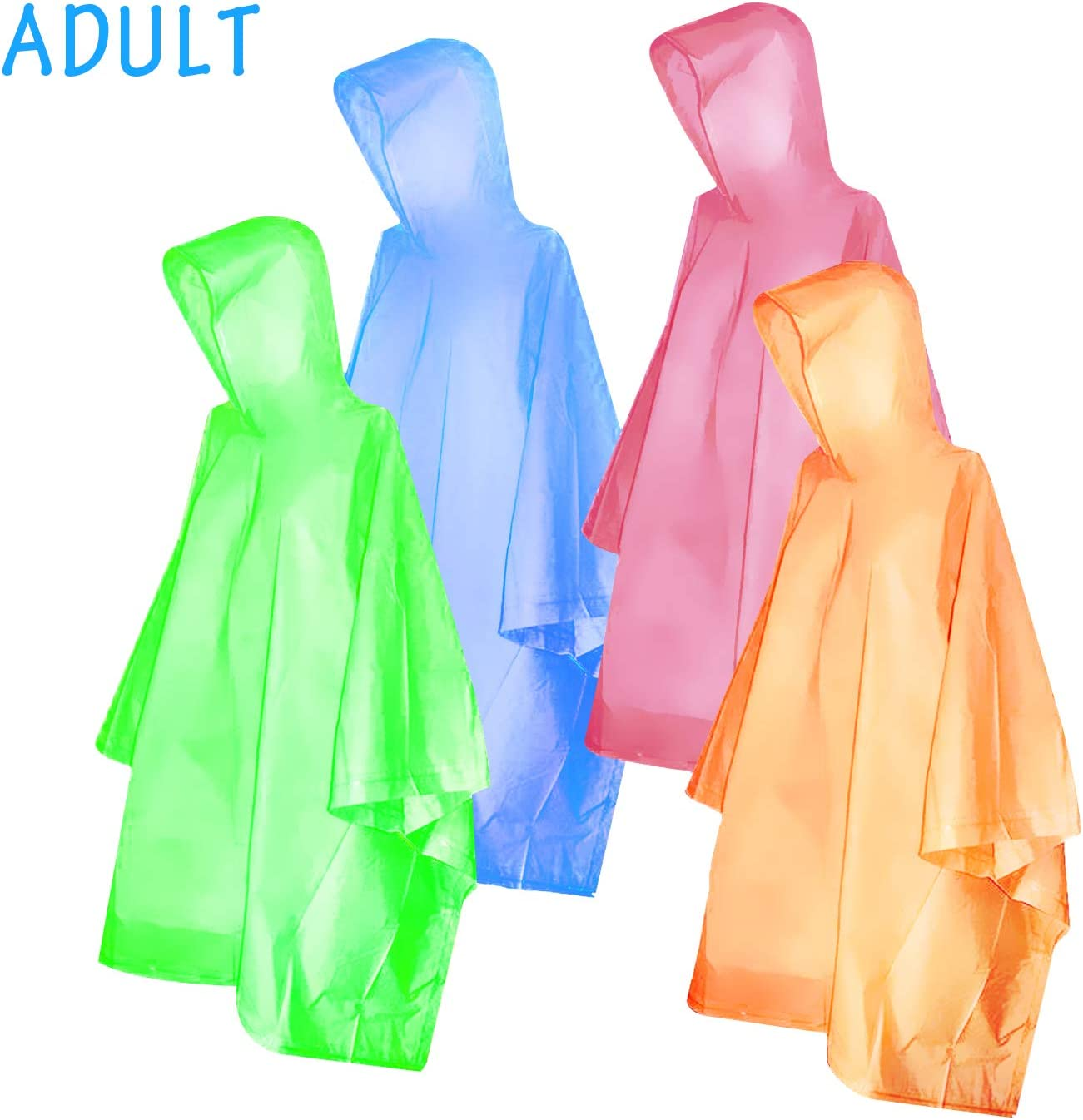 10PCS DISPOSABLE RAINCOAT PONCHO WATERPROOF OUTDOOR HIKING CAMPING SUPPLY SUPER