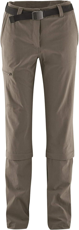 Pantalones Maier Sports Pantalones Desmontables Arolla Gris Marron Para Mujer Tamano 42 Deportes Y Aire Libre Lekabobgrill Com