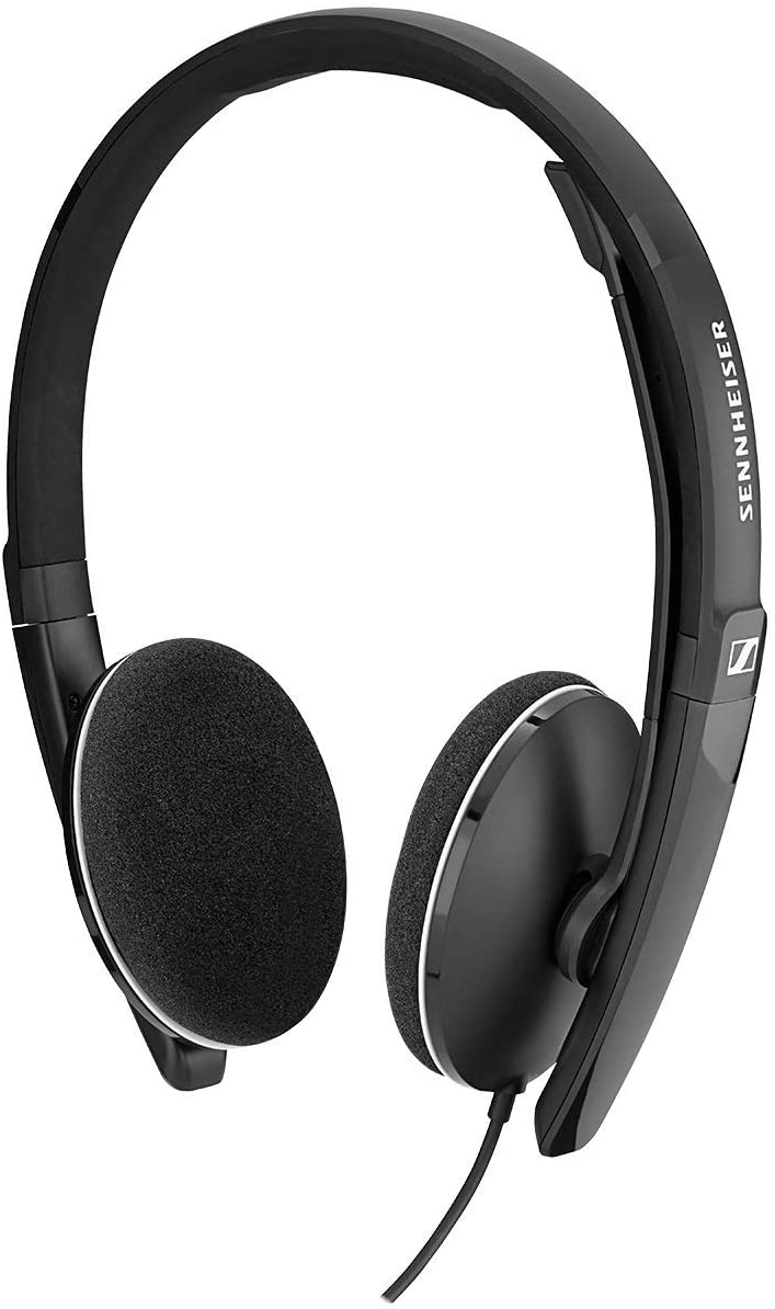 USB-A connectivity Multi-color wired headset for casual gaming foldable microphone e-learning and music noise cancelling microphone high comfort call control Sennheiser PC 8.2 CHAT