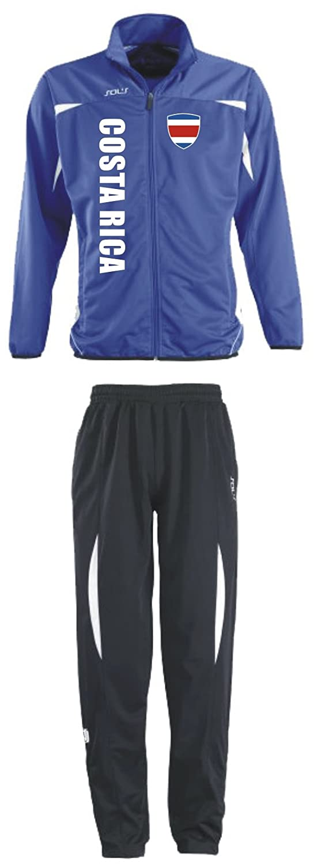 Costa Rica Trainingsanzug - Sportanzug - S-XXL - Fitness Fußball Fitness - f6c9ab
