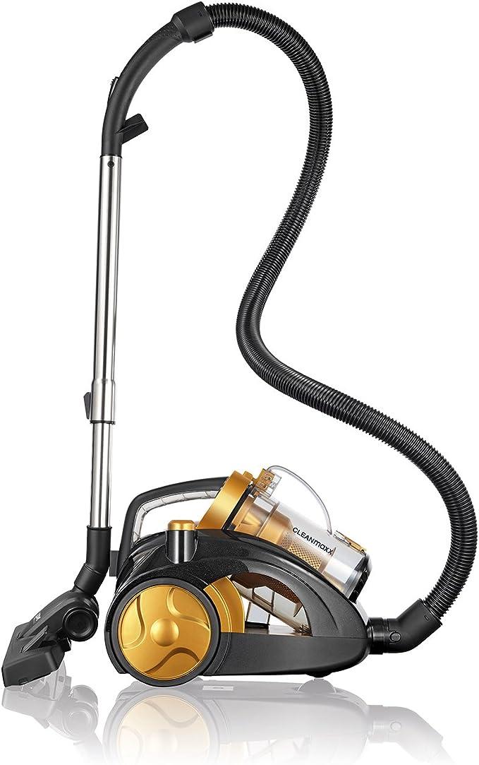 Cleanmaxx 06958 Multi de – Aspirador ciclónico sin bolsa 900 W, Suelo aspirador sin bolsa, incluye accesorio de aspiradora: Amazon.es: Hogar