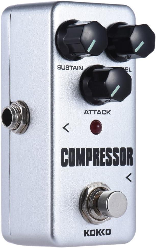 Fanxieast kokko Guitarra Pedal de Efectos fcp2 Mini Compresor ...