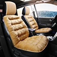 HSART Booster Seat Cushion Portable 12Cm Thick Memory Foam Car Seat Pads for Adults Navy 40X40cm Rose,Black,40x40x9cm Black