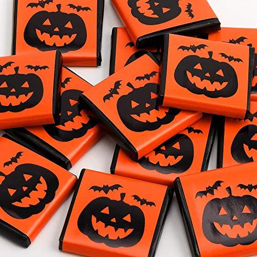Halloween Foil Wrapped Trick or Treat Milk Chocolate Neapolitans (25 Chocolates)