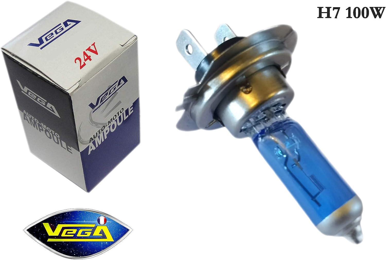 1/bombilla Vega/® xen/ón Day Light 24/V H7/100/W PX26D marca francesa